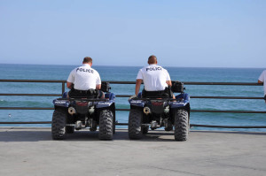 Walks - HB Police on Pier