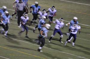 High School Football - VP running play
