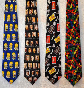 Simpson, Presidents, Candy & Crayola ties