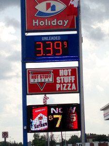 Gas Price Warroad, MN