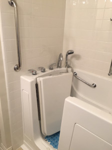 Finished Accessible Shower/Tub 4