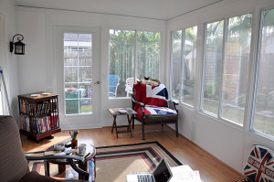 Sunroom Interior South and West