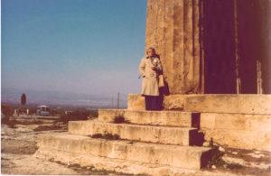 Mom in Greece