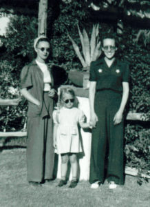 Mom with her best friend May and daughter, Joyce.