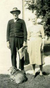 Mother's Day -- Mom's Parents: John and Christina Wahlberg