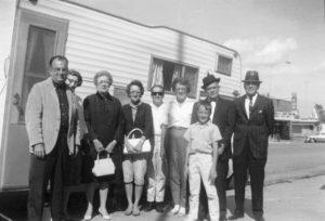Family in Warroad, MN