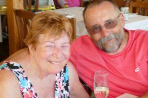 Trip - Di and Joe at Taverna Agni