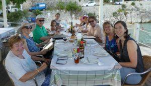 Trip - Di, Kathy, Don, Cara, Lola, Kit, Ivy, David, Tricia, Becka (and Joe behind the camera)