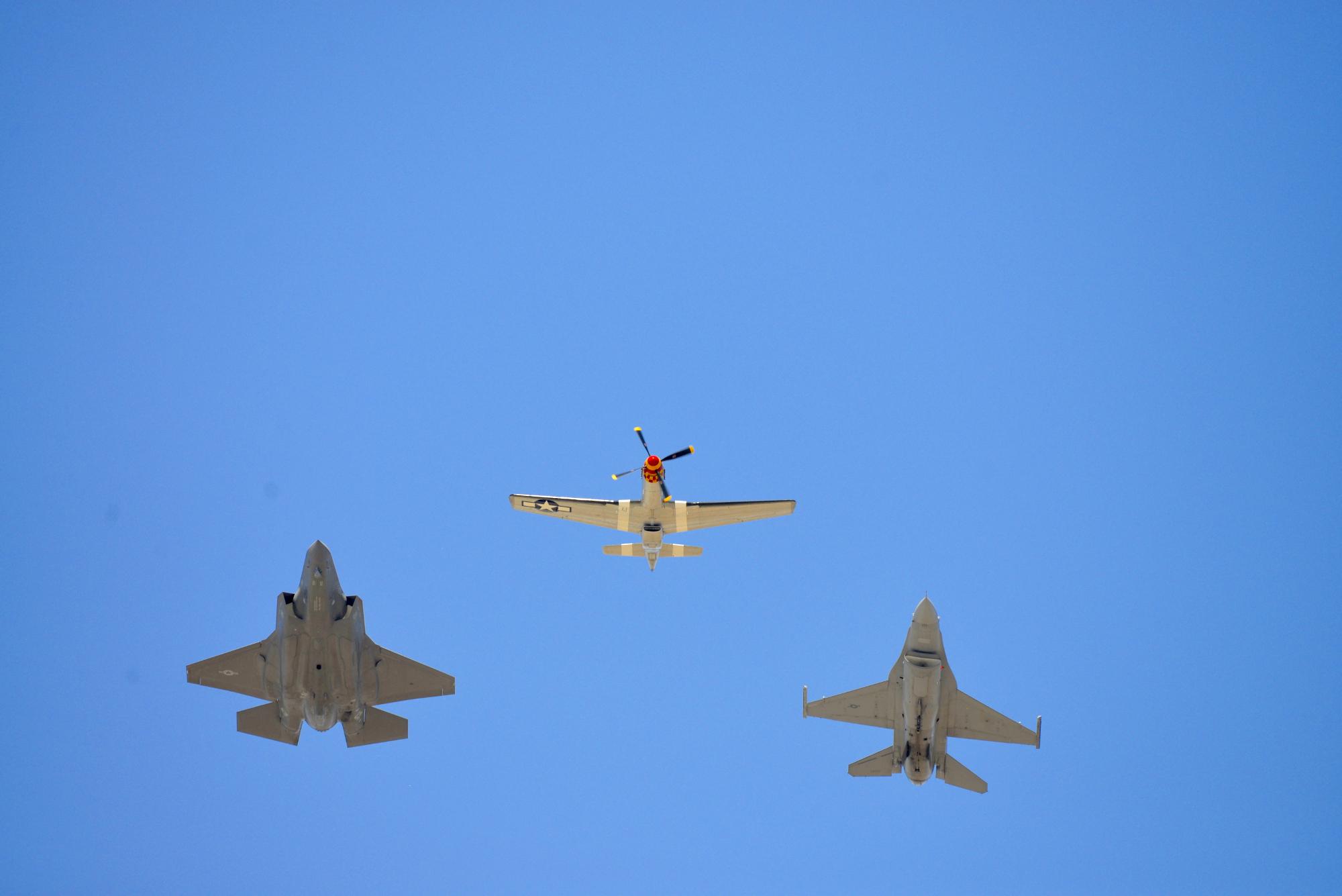F-35 ... P-51 ... F-16
