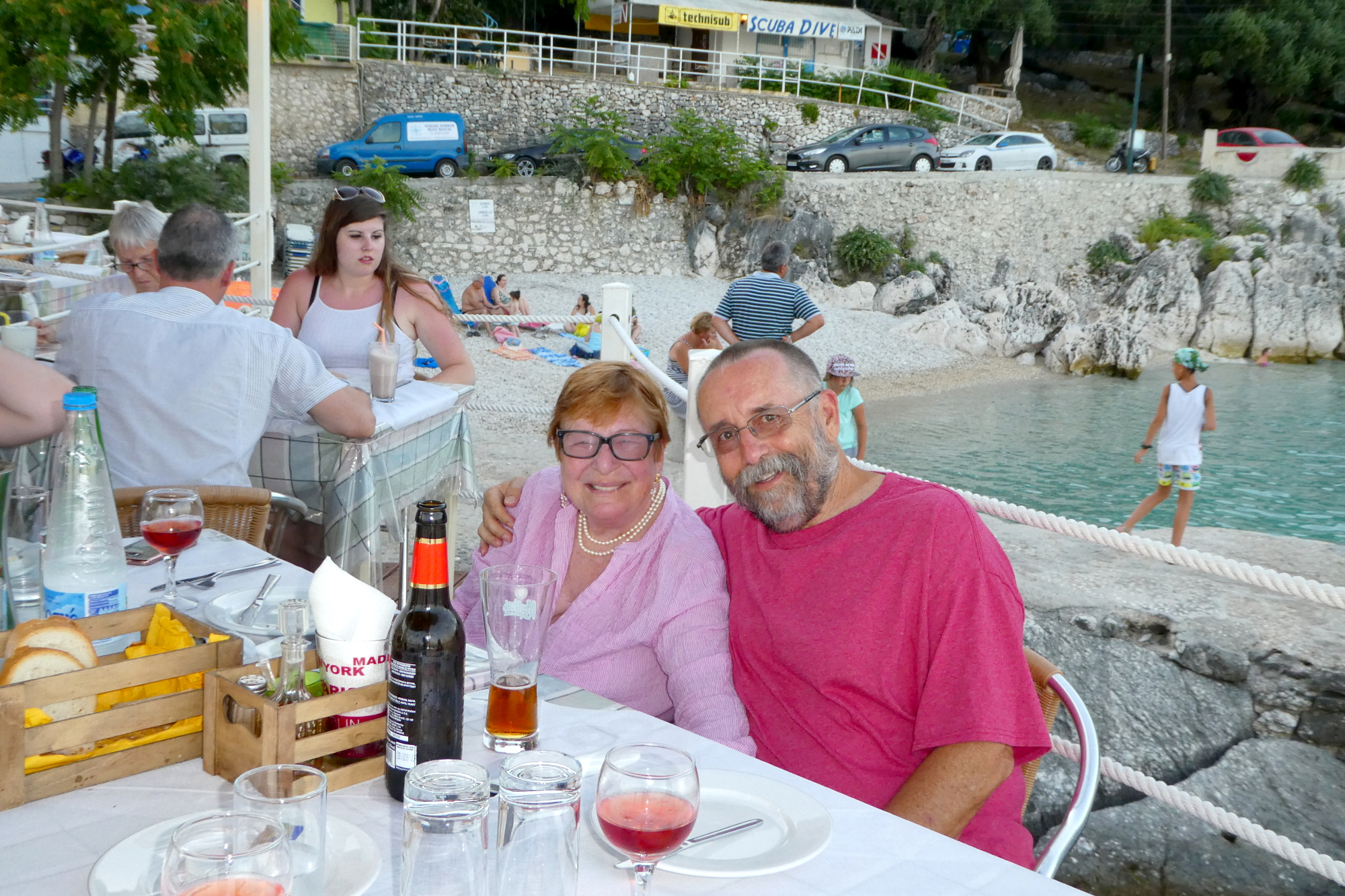 Dinner on Corfu
